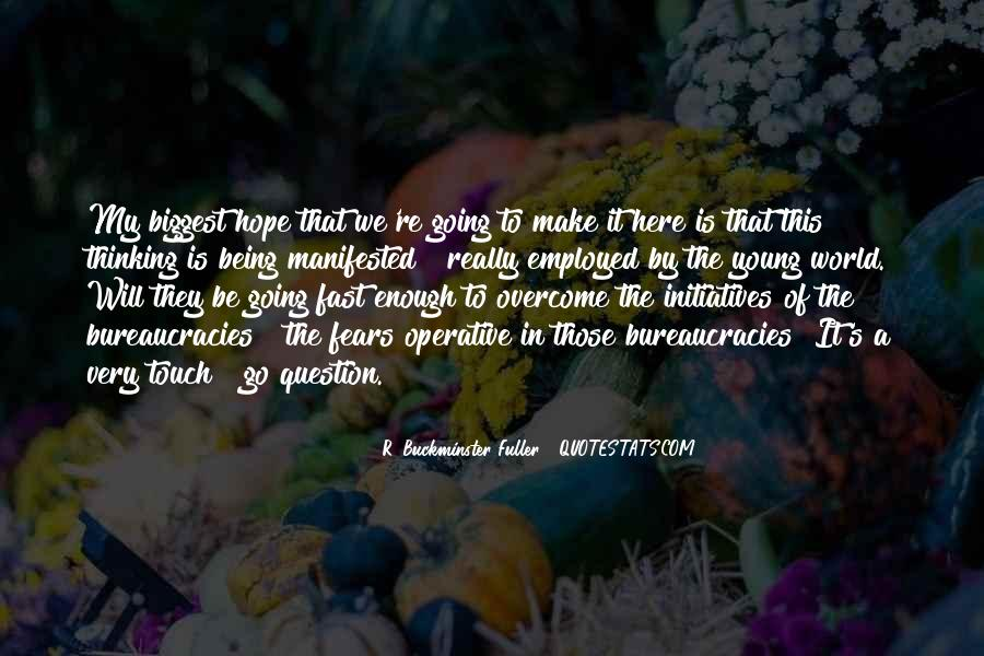 Quotes About Manifested #411322