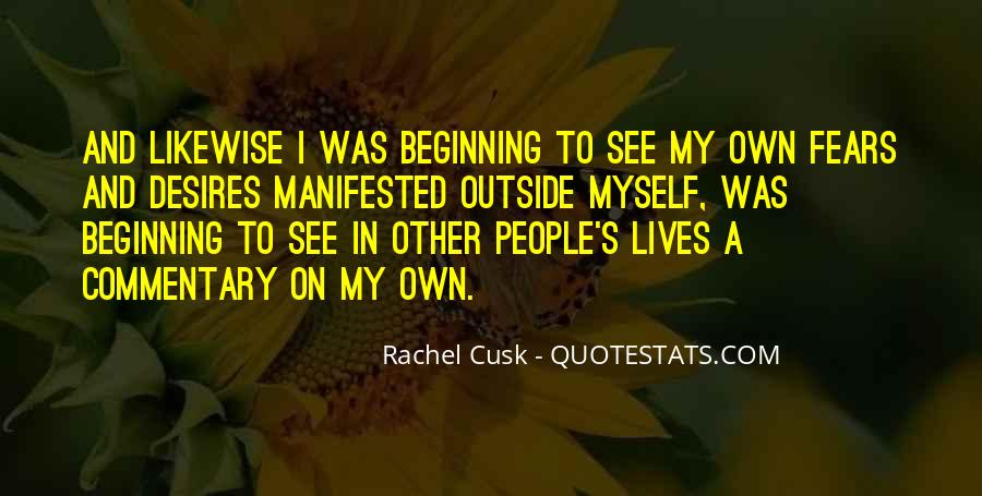 Quotes About Manifested #466103