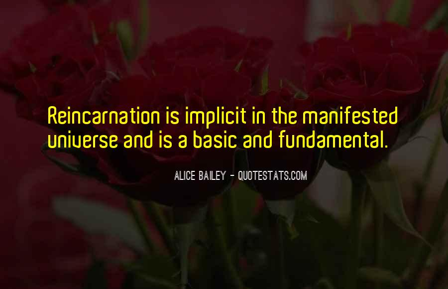 Quotes About Manifested #511103