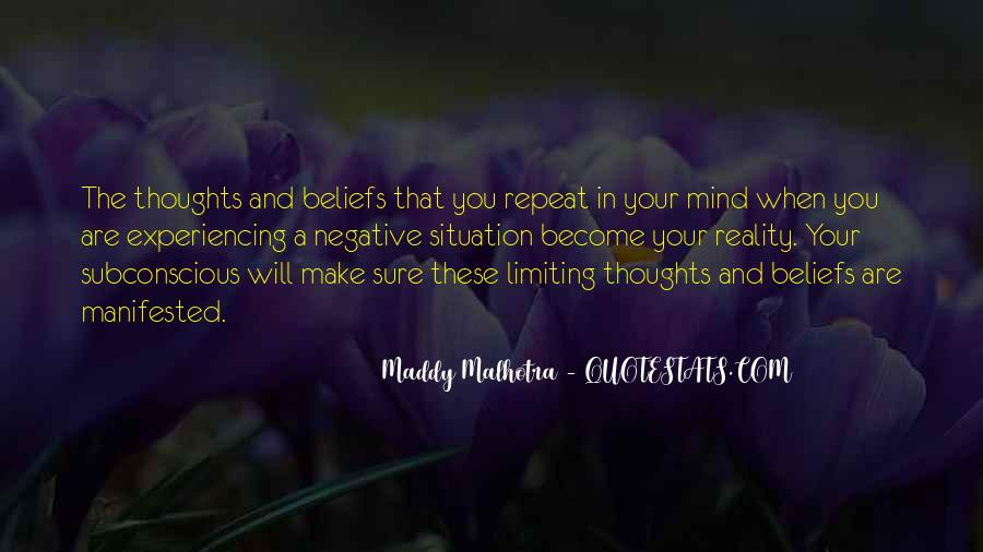 Quotes About Manifested #547755