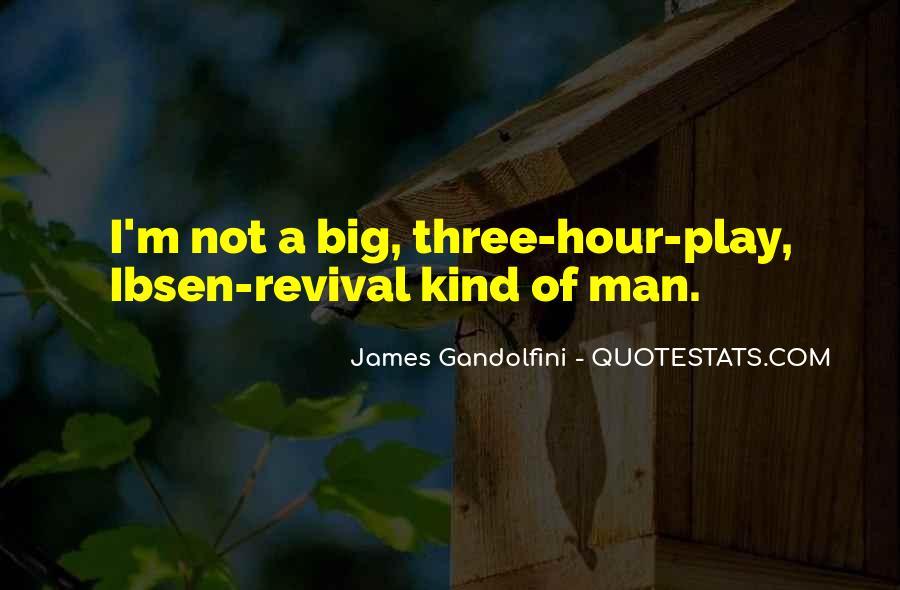 Best Gandolfini Quotes #187876