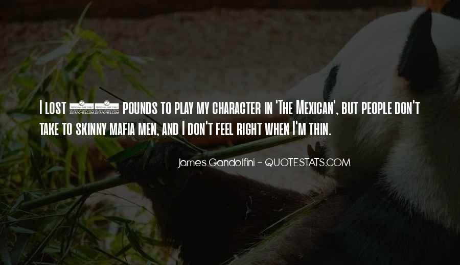Best Gandolfini Quotes #236327
