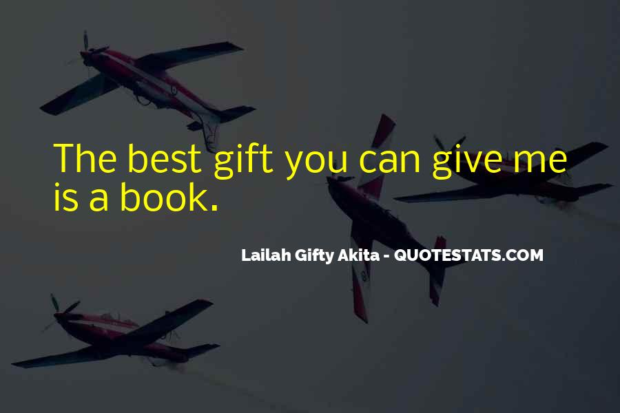 Best Gift Quotes #177361