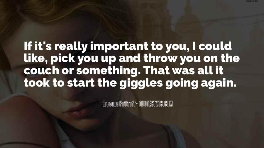 Best Giggles Quotes #1153625