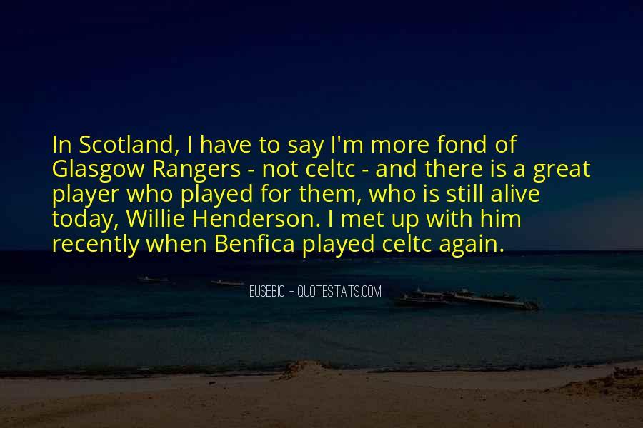 Best Glasgow Rangers Quotes #748272
