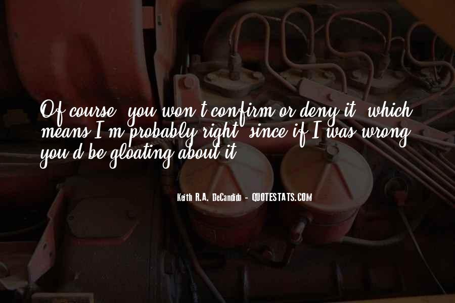 Best Gloating Quotes #1237112