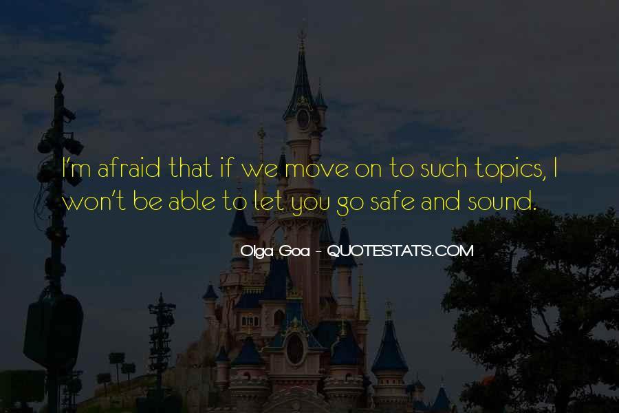 Best Goa Quotes #146635