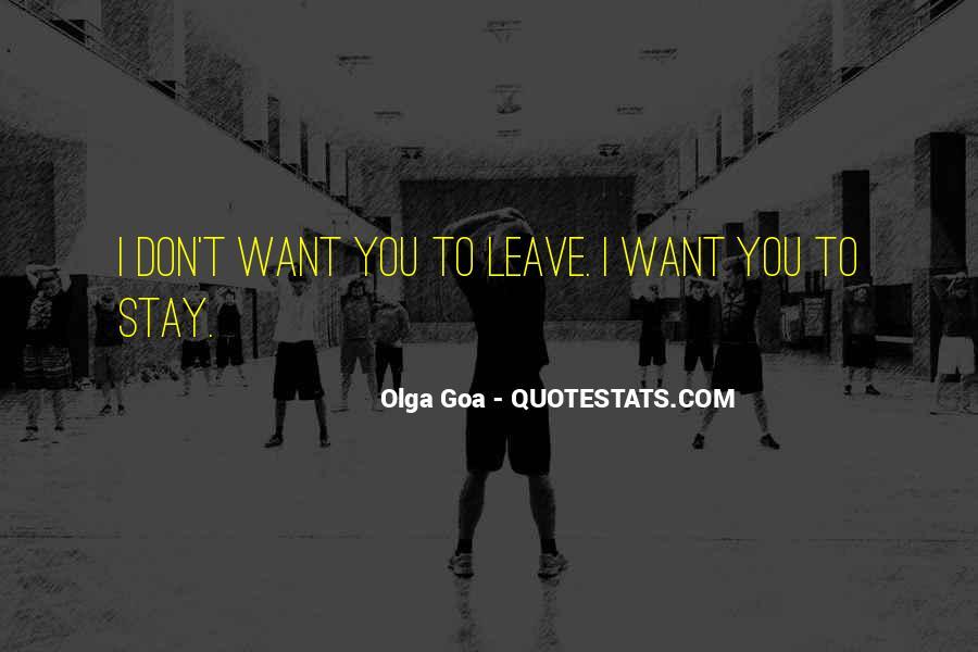 Best Goa Quotes #250799