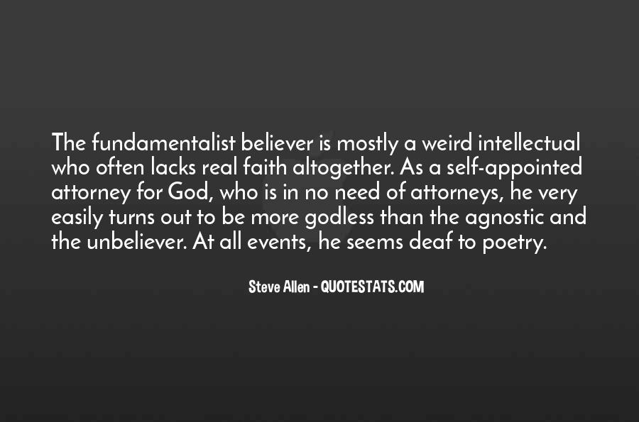 Best Godless Quotes #367126