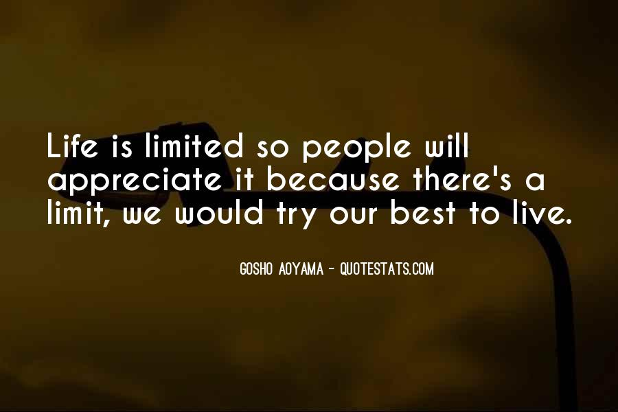 Best Gosho Quotes #1208357