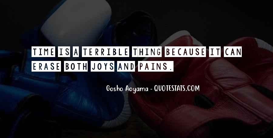 Best Gosho Quotes #1274685
