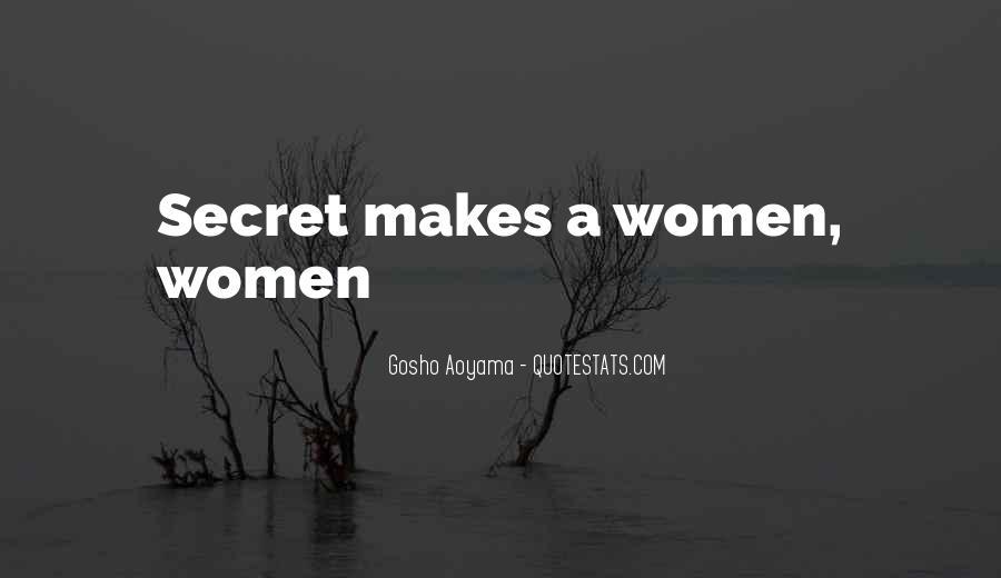 Best Gosho Quotes #1660331