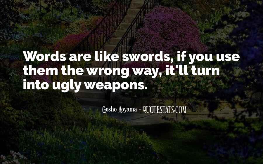 Best Gosho Quotes #1774627