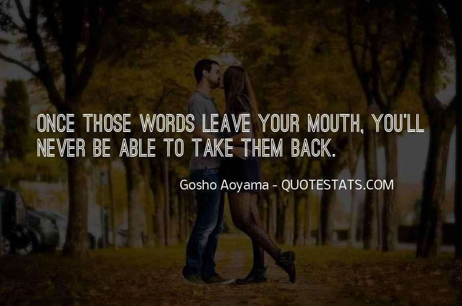 Best Gosho Quotes #273777