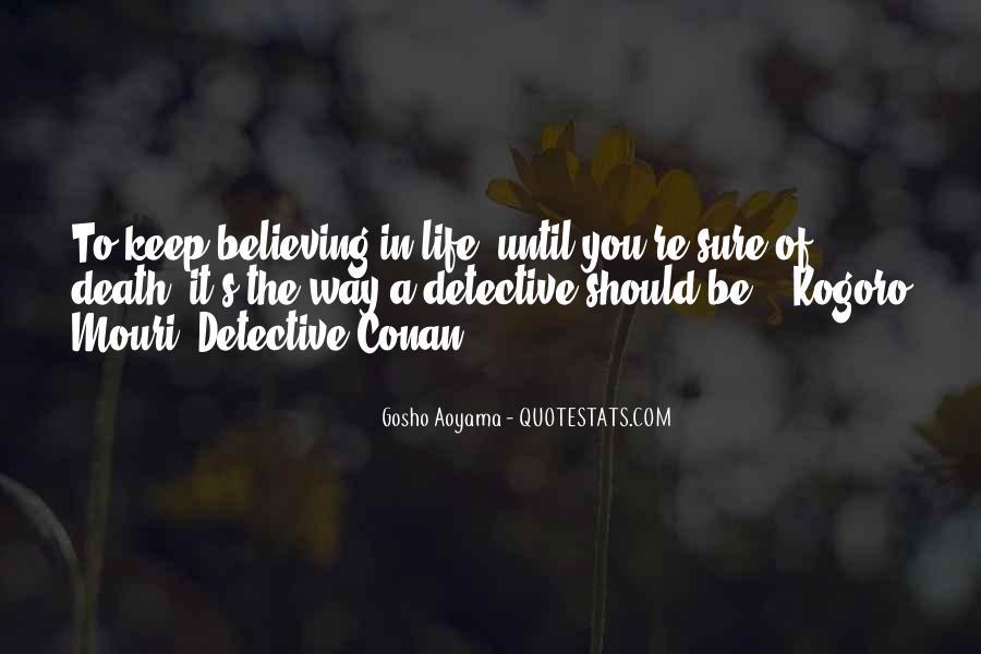 Best Gosho Quotes #356945