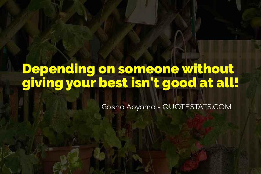 Best Gosho Quotes #647766