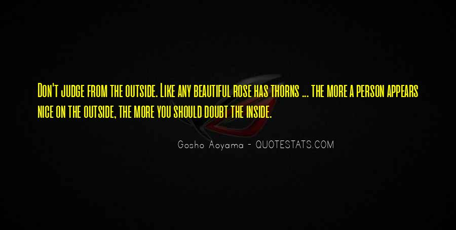 Best Gosho Quotes #701612