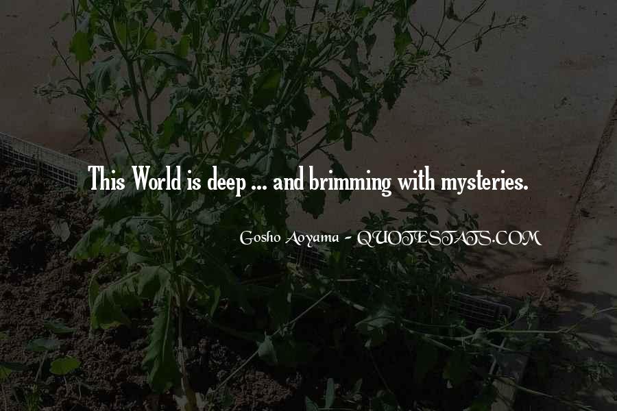 Best Gosho Quotes #810621