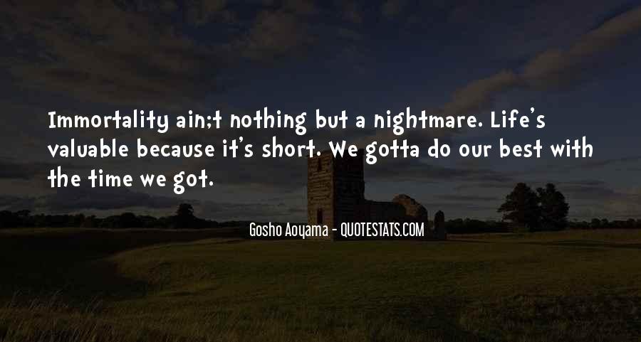 Best Gosho Quotes #936009