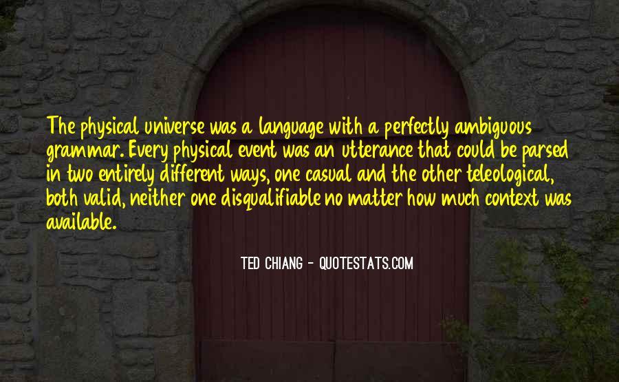 Best Grammar Quotes #104985