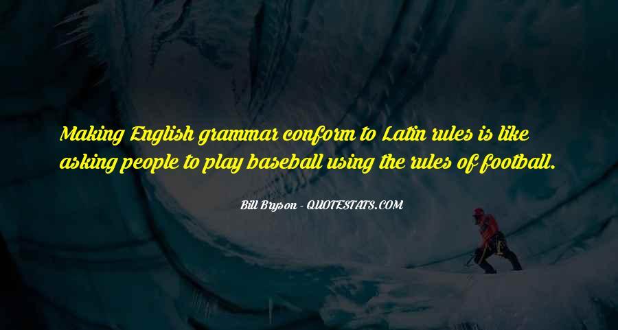 Best Grammar Quotes #129021