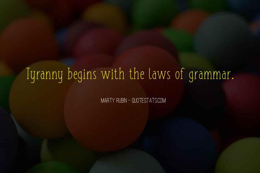 Best Grammar Quotes #145859
