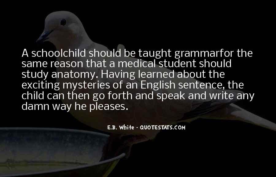Best Grammar Quotes #165080