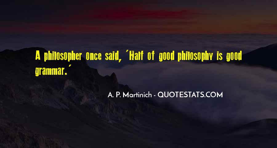 Best Grammar Quotes #175675