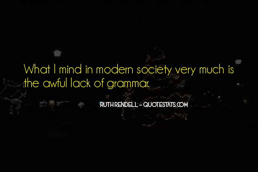 Best Grammar Quotes #176335