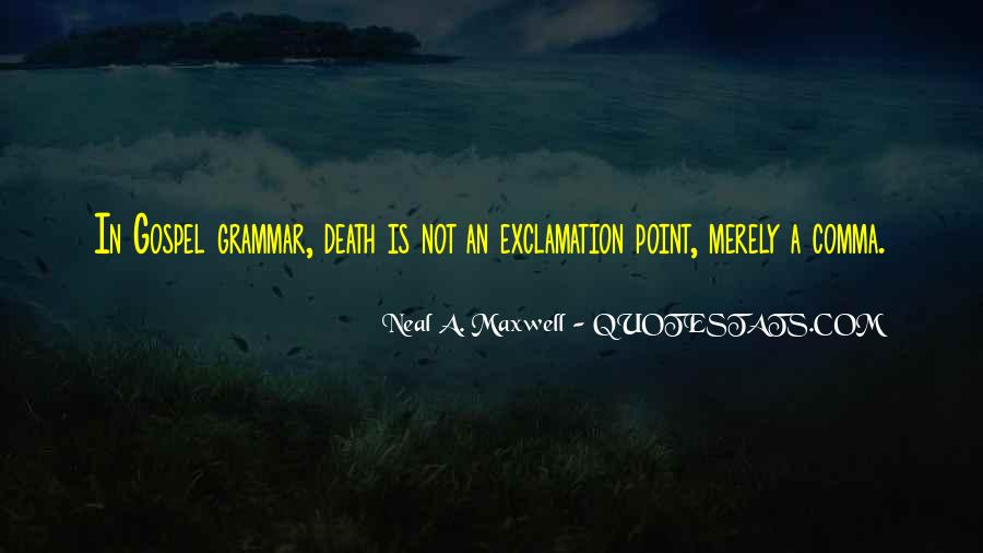 Best Grammar Quotes #176379