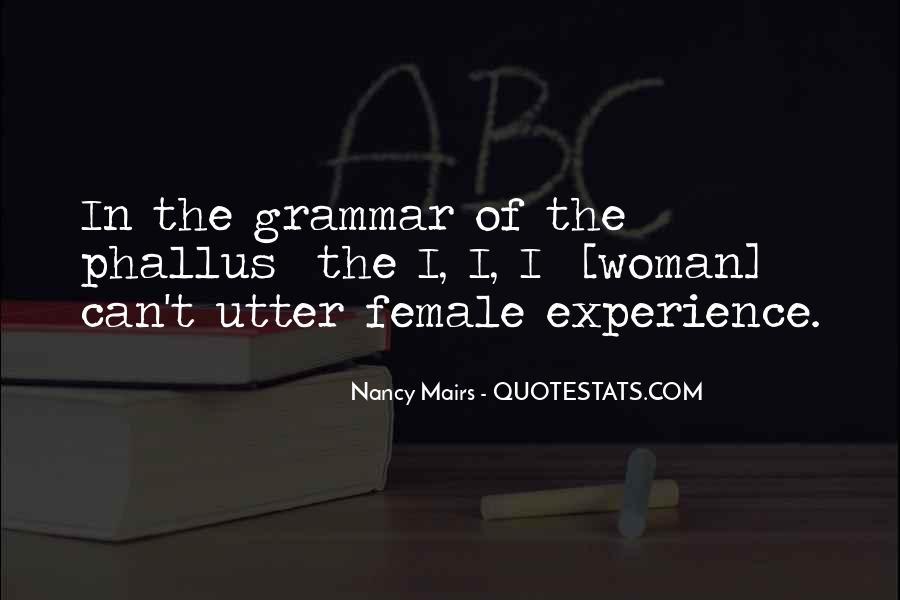 Best Grammar Quotes #189558