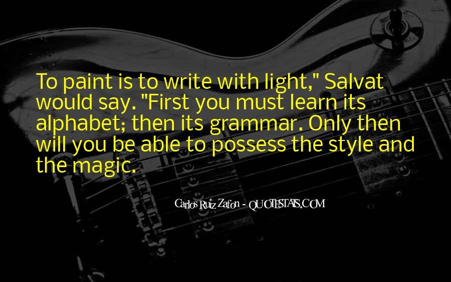 Best Grammar Quotes #224339
