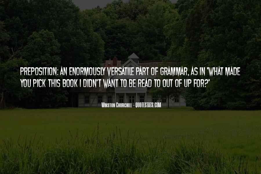Best Grammar Quotes #243170
