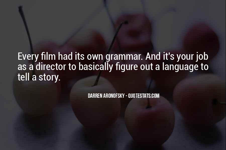 Best Grammar Quotes #247994