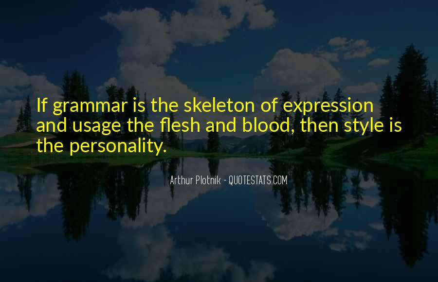Best Grammar Quotes #262485