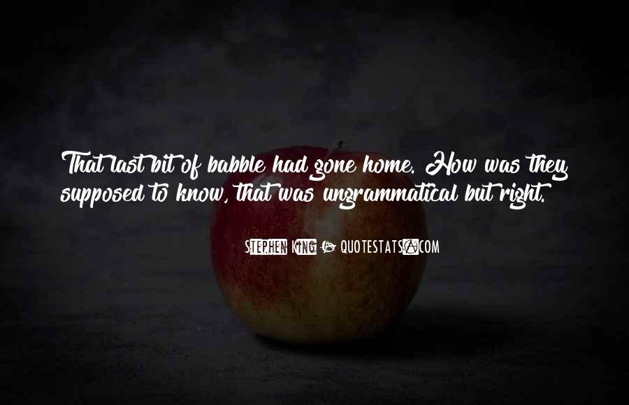 Best Grammar Quotes #269614