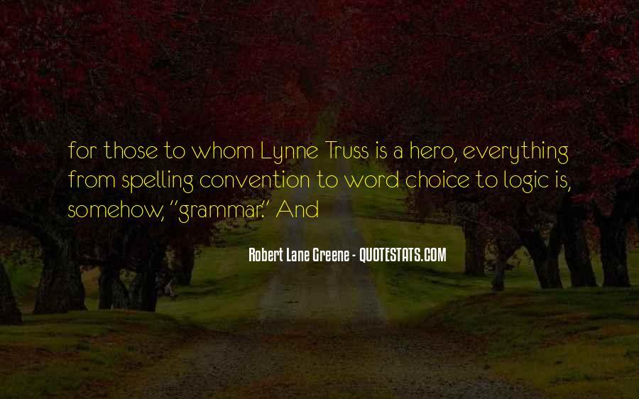 Best Grammar Quotes #269793