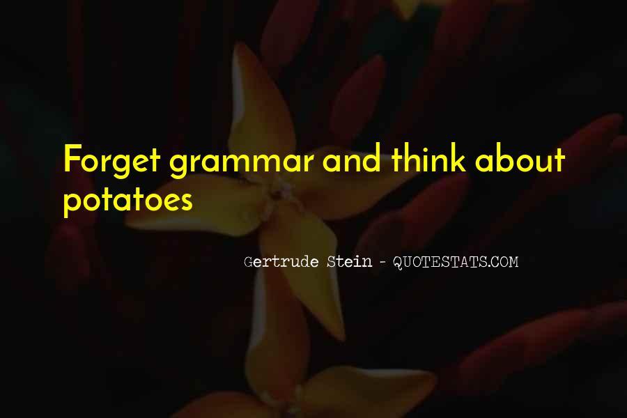 Best Grammar Quotes #281087