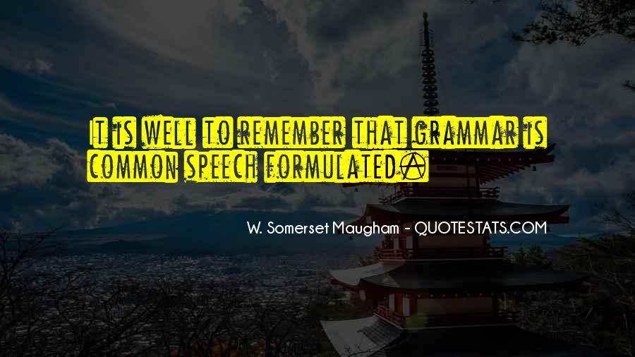 Best Grammar Quotes #287481