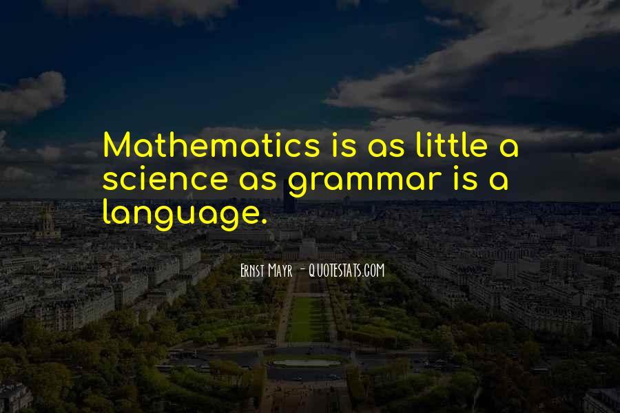 Best Grammar Quotes #306085