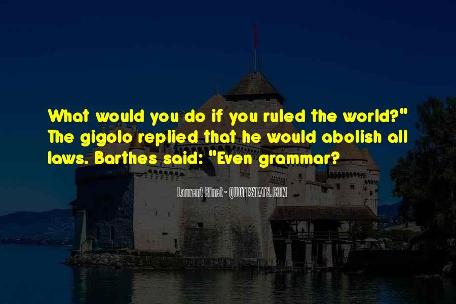 Best Grammar Quotes #34155