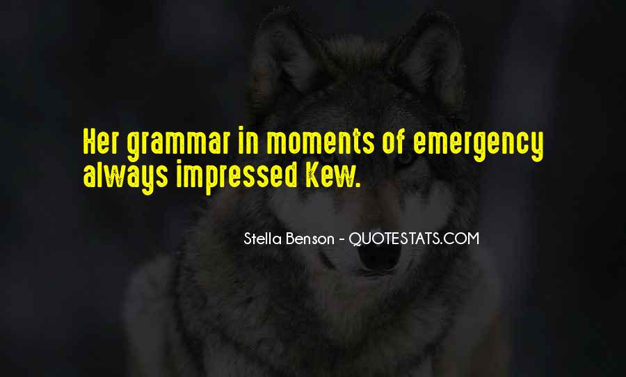 Best Grammar Quotes #35787