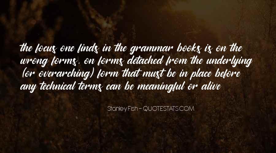 Best Grammar Quotes #50544