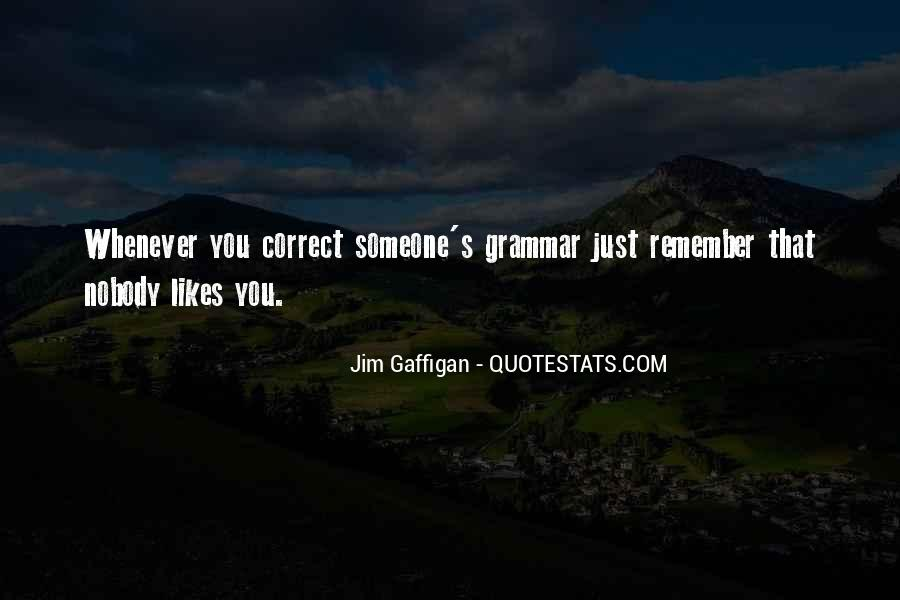 Best Grammar Quotes #66816