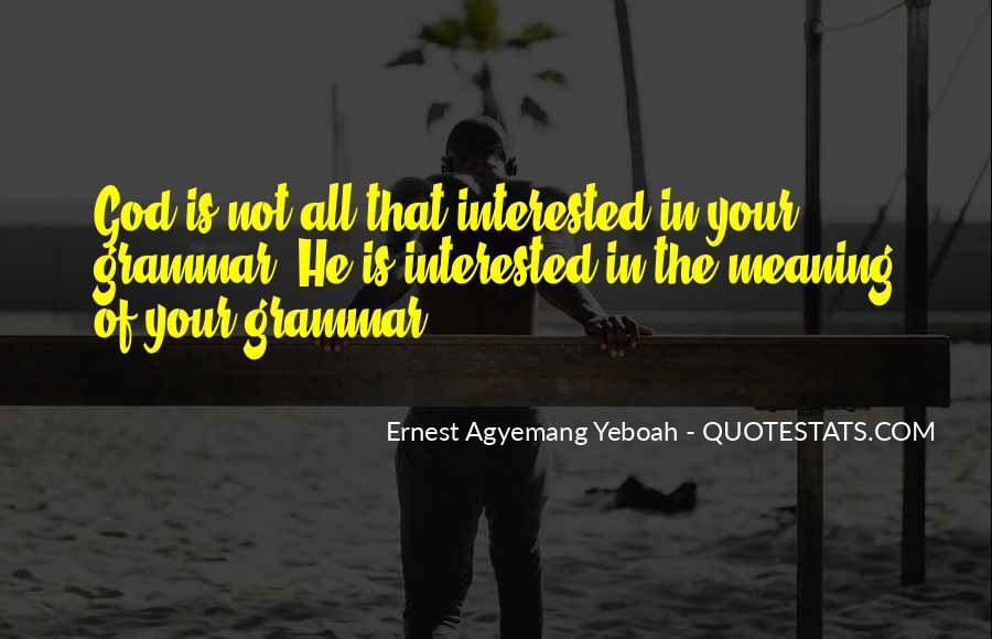 Best Grammar Quotes #72503
