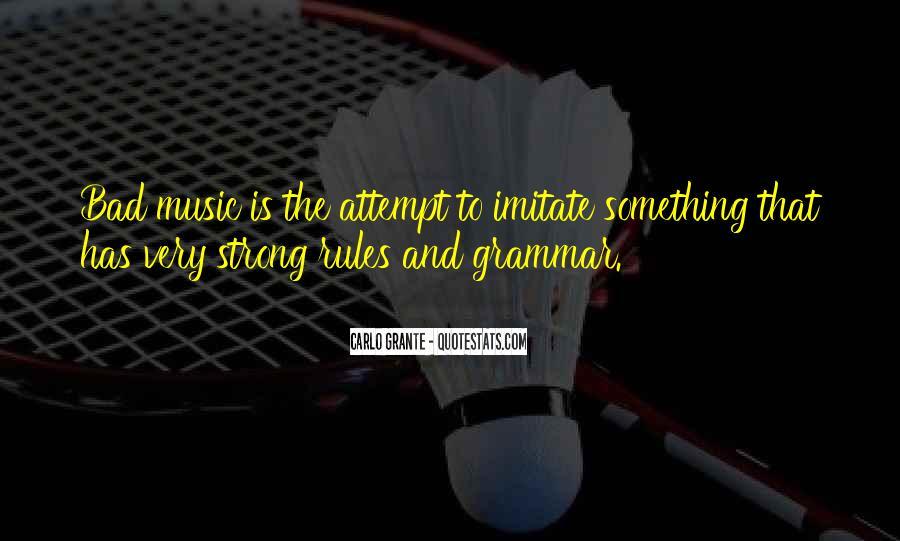 Best Grammar Quotes #93395