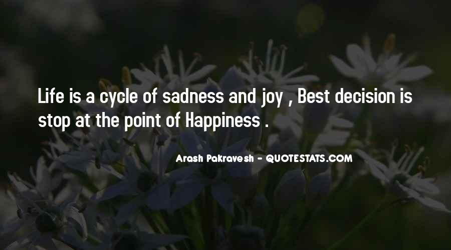 Best Happiness And Life Quotes #1620428