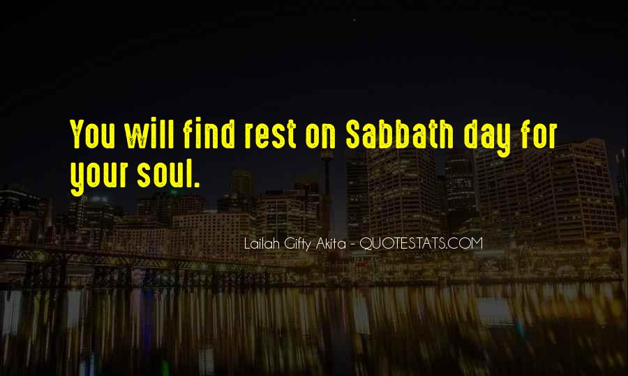 Top 8 Best Happy Sabbath Quotes: Famous Quotes & Sayings ...