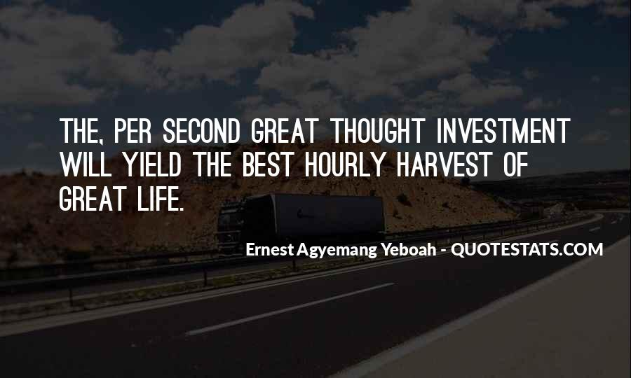 Best Harvest Quotes #1646666