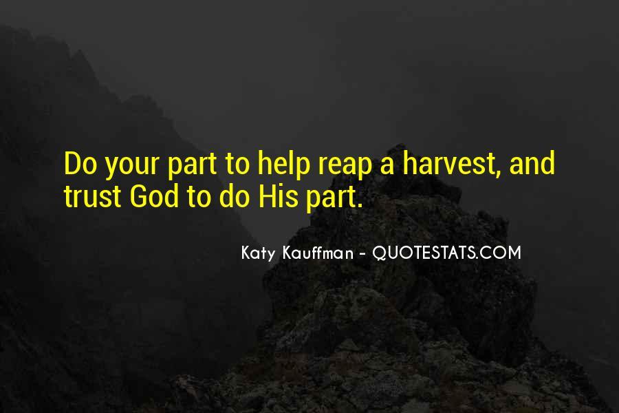 Best Harvest Quotes #20657